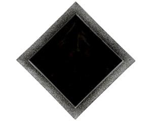 コスモ(シルバー)スクエア27cm皿