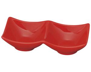 スタイル赤2P角鉢
