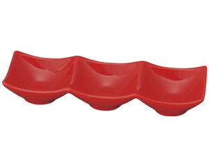 スタイル赤3P角鉢