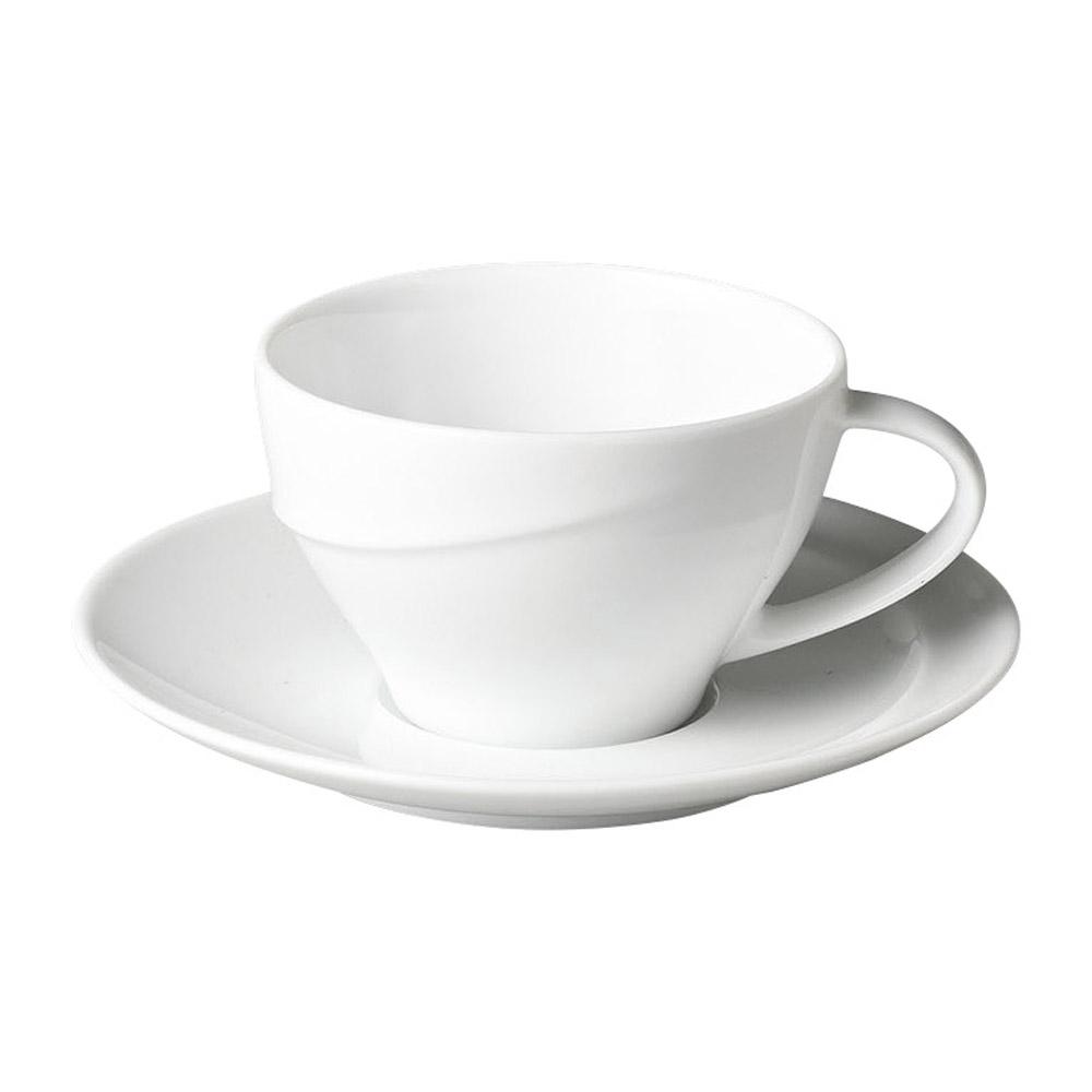 LUK ホワイトコーヒーソーサーのみ