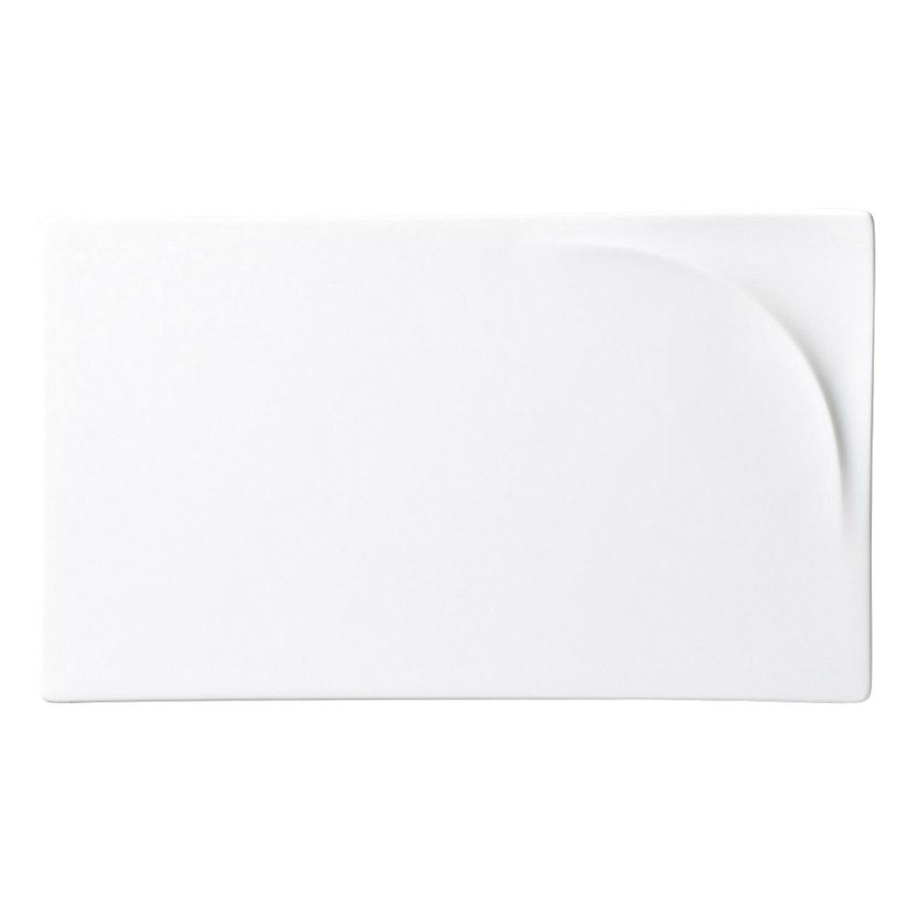LUK 25長角プレート ホワイト
