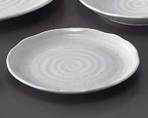 粉引7.0皿