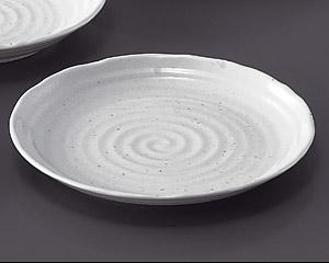 粉引8.0皿