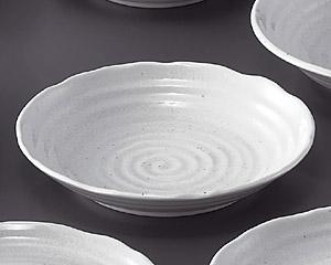粉引7.0深皿