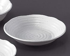 粉引8.0深皿