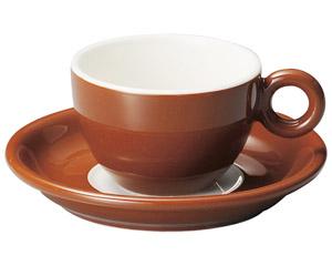 ブリオ コーヒーカップ のみ ブラウン