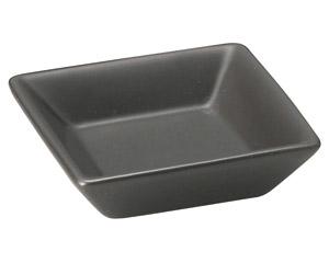 スタイル 黒角小皿