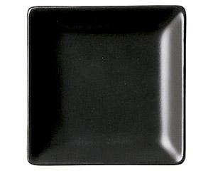 スタイル 黒9cm角皿