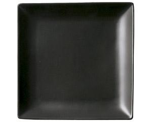 スタイル 黒17cm角皿