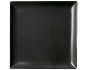 スタイル 黒24cm角皿