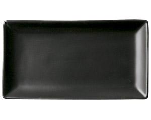 スタイル 黒20cm長角皿