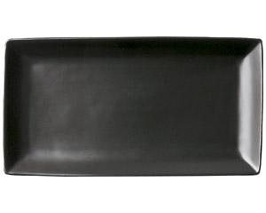 スタイル 黒27cm長角皿