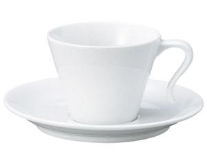 ダイヤセラム(強化)テール コーヒーカップと受皿
