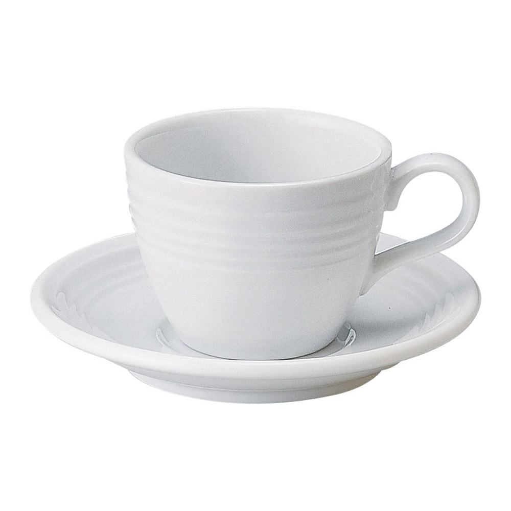 スパビット 白 コーヒーソーサーのみ