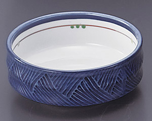 古代釉グリン散らし(強化)4.0鉄鉢