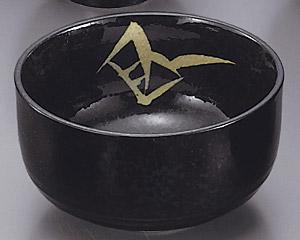 黒藍染笹丼5.0深口ボール