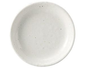 粉引黒い斑点 13cm皿(メタ)