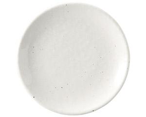粉引黒い斑点 15cm皿(メタ)