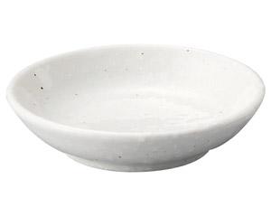 粉引黒い斑点 10cm深皿(メタ)