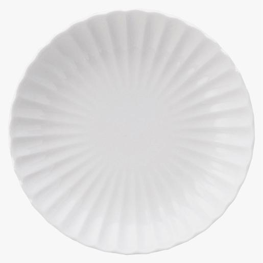 かすみ 白 12.5cm丸皿