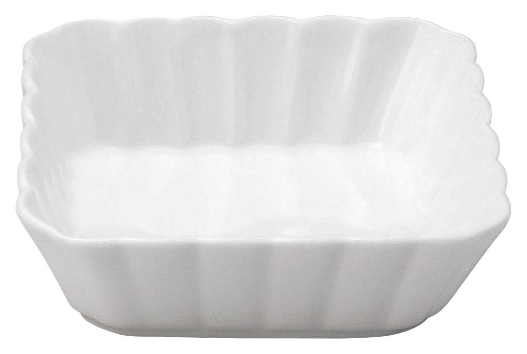 かすみ 白 11cm浅角鉢
