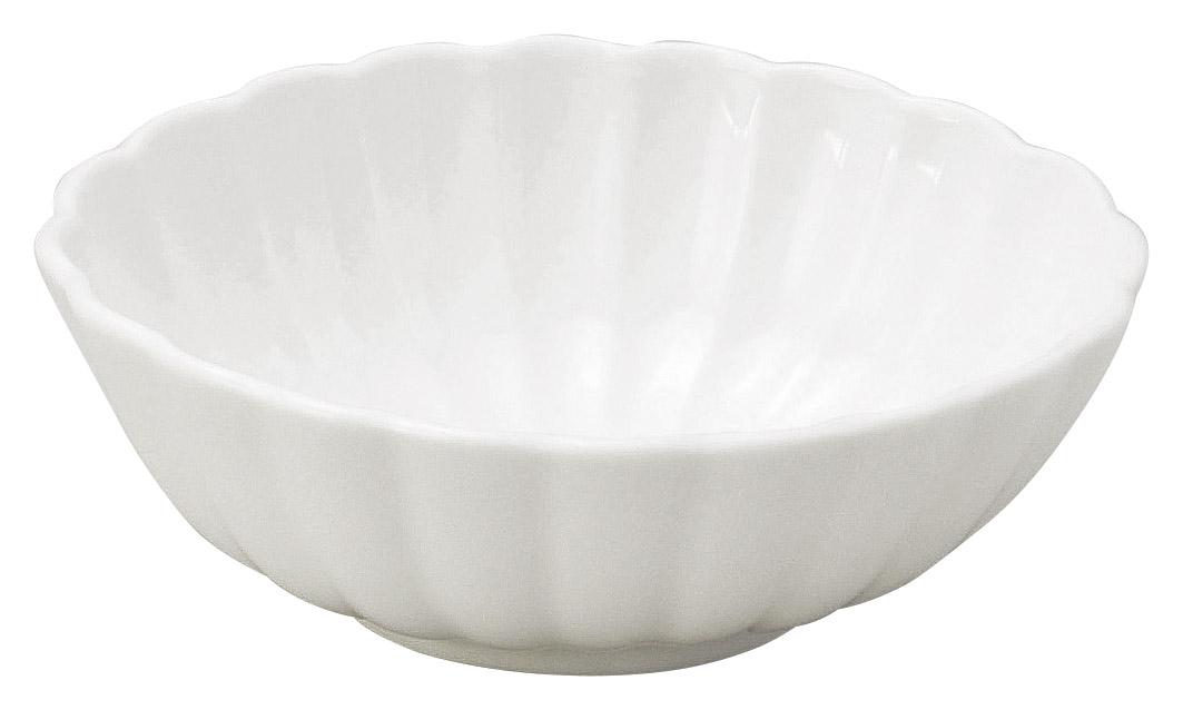 かすみ 白 11.5cm楕円小鉢
