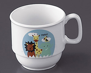 ハロー(高強度磁器)スタッキングマグカップ