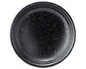 黒御影 13cm皿(メタ)