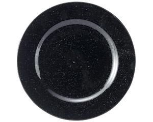 黒御影 リム19cm皿