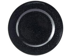 黒御影 リム21cm皿