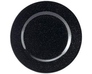 黒御影 リム23cm皿