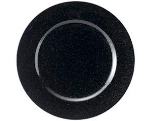 黒御影 リム26cm皿