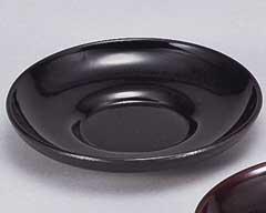 黒塗ダルマ11cm茶托
