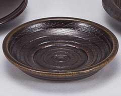 古代乱筋12.5cm茶托