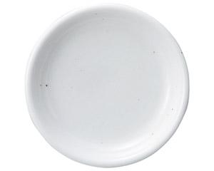 ミルキーウェイ(黒い点々あり) 15.5cmパン皿