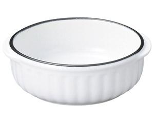 コローレ 丸グラタン(L) ホワイト