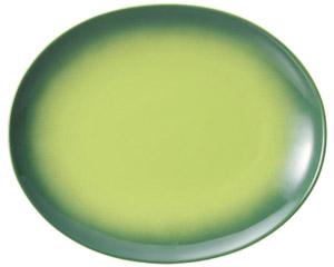 コローレ オーバルプラター(L) グリーン
