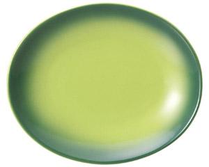 コローレ オーバルプラター(M) グリーン