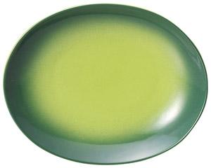 コローレ オーバルプラター(S) グリーン