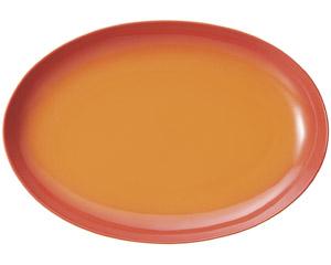 コローレ 41cmオーバルプラター オレンジ
