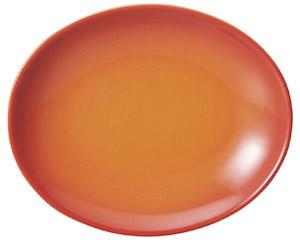 コローレ オーバルプラター(M) オレンジ
