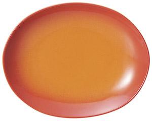 コローレ オーバルプラター(S) オレンジ