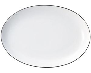 コローレ 41cmオーバルプラター ホワイト
