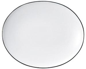 コローレ オーバルプラター(L) ホワイト