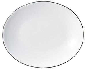 コローレ オーバルプラター(M) ホワイト