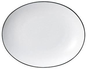 コローレ オーバルプラター(S) ホワイト