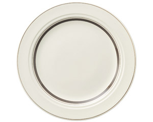カントリーサイド ダークブラウン 27cmディナー皿