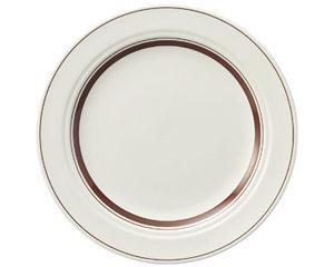 カントリーサイド ダークブラウン 25.5cmディナー皿