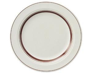 カントリーサイド ダークブラウン 23cmミート皿