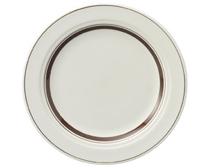 カントリーサイド ダークブラウン 21cmミート皿